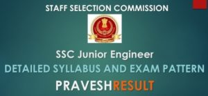 SSC JE 2019: Detailed Syllabus & Exam Pattern of Junior Engineer[ PDF]