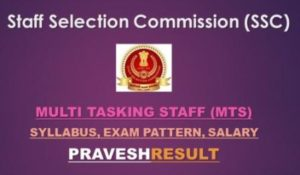 SSC MTS 2019: Latest Paper 1,2 Detailed Syllabus & Exam Pattern [PDF]