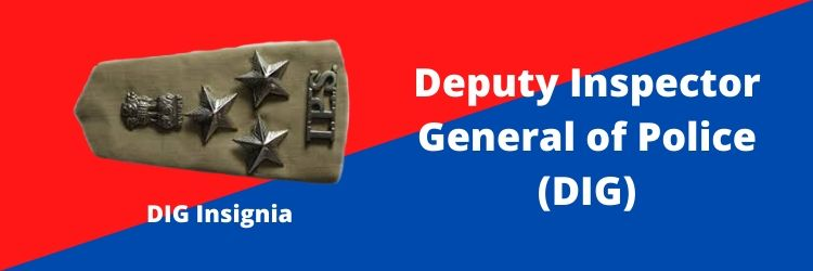 Deputy Inspector General of Police (DIG) Rank Insignia