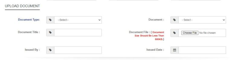 Register family on Samagra Portal Upload Documents