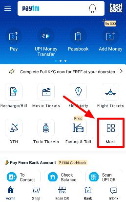 Step1 how to pay traffic e challan through paytm