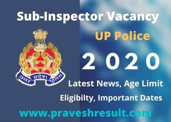 Latest News | UP Police 9534 Sub Inspector, Platoon Commander Vacancy