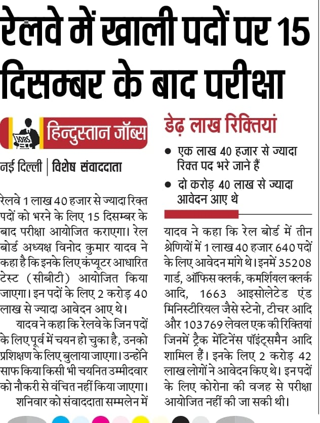 Railway Group D Exam Date