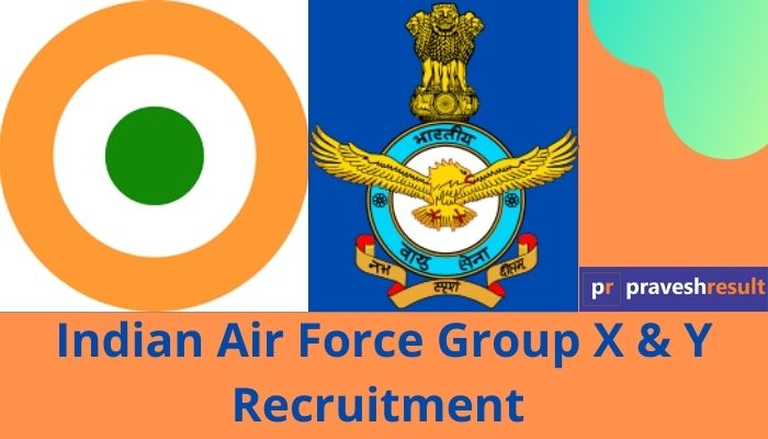Apply Online | Indian Air Force Group X & Y Recruitment 2021