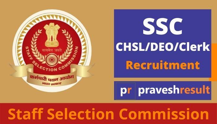 Apply Online | SSC (10+2) CHSL LDC, Data Entry Operator Recruitment 2020